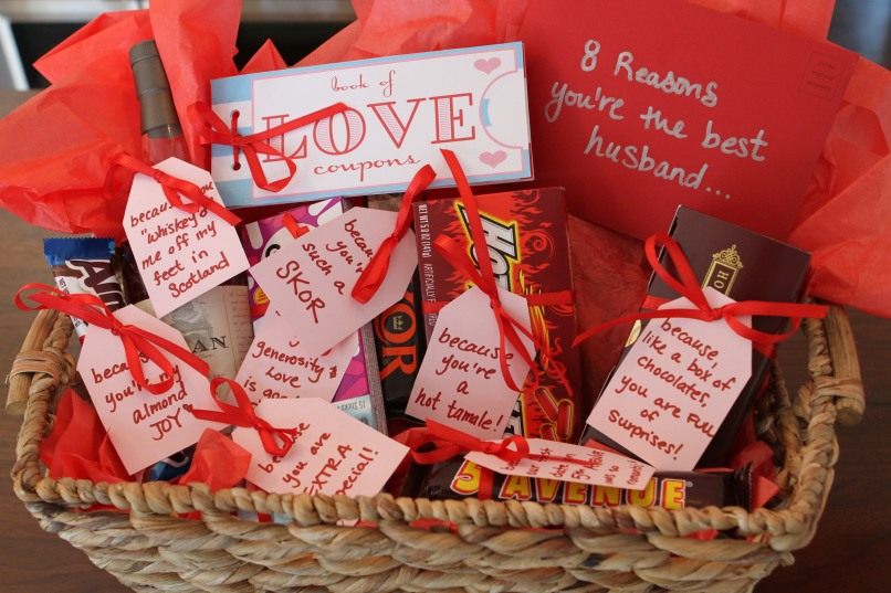 Diy Valentines Gift Basket For Boyfriend Diydrywalls Org